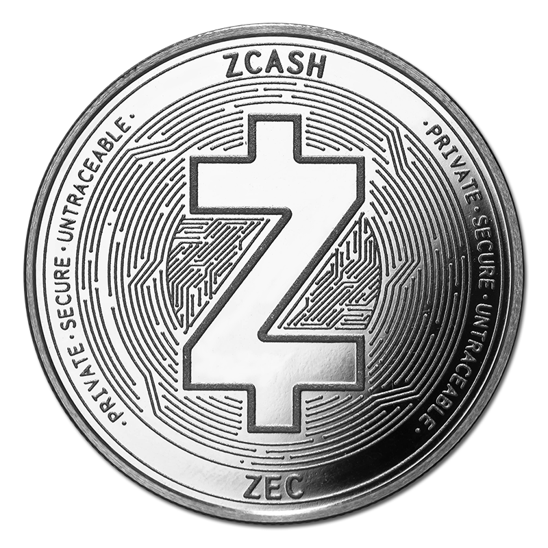 Zcash Silver Coin Zec Bullion Round Golden Eagle Coins