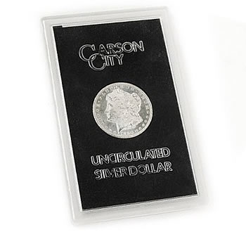 Carson City Morgan Silver Dollar 1885-CC Uncirculated GSA