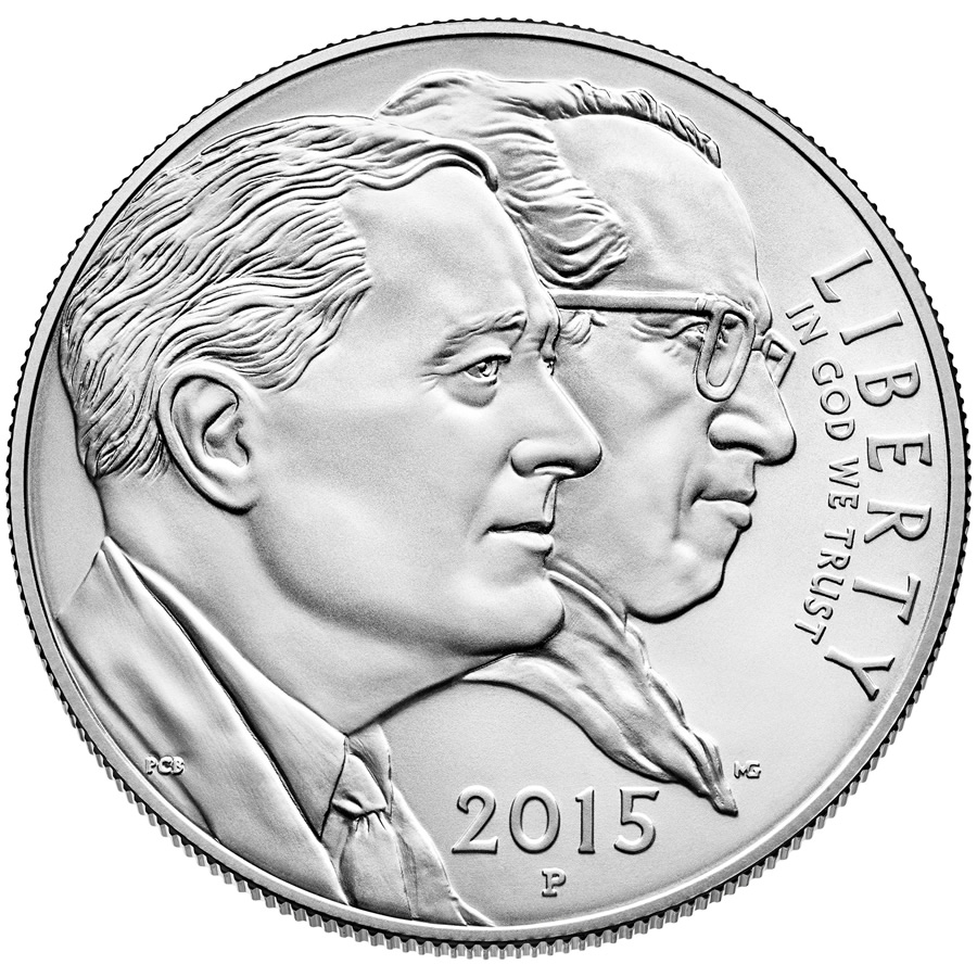 US Commemorative Dollar Uncirculated 2015 March of Dimes