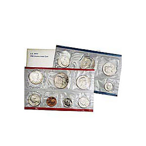 Uncirculated Mint Set 1980