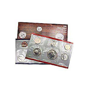 Uncirculated Mint Set 1985
