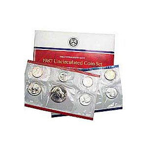 Uncirculated Mint Set 1987