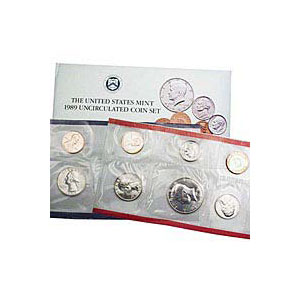 Uncirculated Mint Set 1989