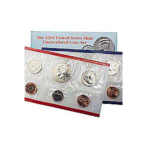 Uncirculated Mint Set 1994