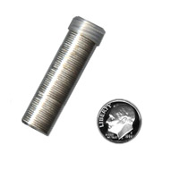 90% Silver Proof Roosevelt Dimes Roll (50 pcs.)