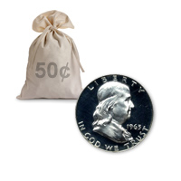 90% Silver Proof Franklin Halves Roll (20pcs.)
