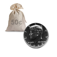 90% Silver Proof 1964 Kennedy Halves Roll (20pcs.)