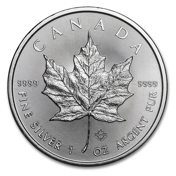 Silver Maple Leaf 1 oz Uncirculated - Random Year