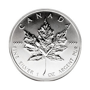 2008 Silver Maple Leaf 1 oz Uncirculated