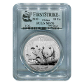 2010 Chinese Silver Panda 1 oz Silver MS70 PCGS First Strike