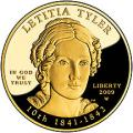 First Spouse 2009 Letitia Tyler Proof