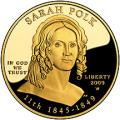 First Spouse 2009 Sarah Polk Proof