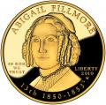 First Spouse 2010 Abigail Fillmore Proof