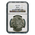 Certified Morgan Silver Dollar 1879-S MS63 NGC