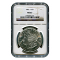 Certified Morgan Silver Dollar 1882-S MS63 NGC