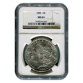 Certified Morgan Silver Dollar 1885 MS63 NGC