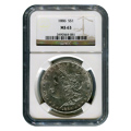 Certified Morgan Silver Dollar 1888 MS63 NGC