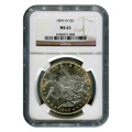 Certified Morgan Silver Dollar 1899-O MS65 NGC