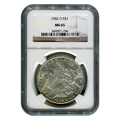 Certified Morgan Silver Dollar 1902-O MS65 NGC
