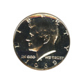 Kennedy Half Dollar 1969-S Proof