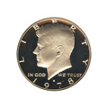 Kennedy Half Dollar 1978-S Proof