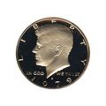 Kennedy Half Dollar 1979-S Proof Type 2