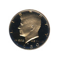 Kennedy Half Dollar 1980-S Proof