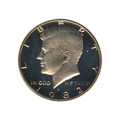 Kennedy Half Dollar 1982-S Proof
