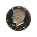 Kennedy Half Dollar 1985-S Proof