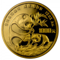 Chinese Gold Panda 12 oz 1986
