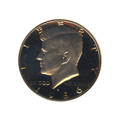Kennedy Half Dollar 1986-S Proof