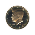 Kennedy Half Dollar 1989-S Proof