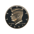 Kennedy Half Dollar 1991-S Proof