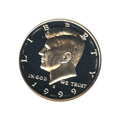 Kennedy Half Dollar 1999-S Proof Silver