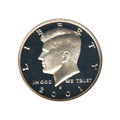 Kennedy Half Dollar 2001-S Proof Silver