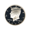 Kennedy Half Dollar 2007-S Proof Silver