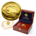 2009 Ultra High Relief Gold American Eagle In Box