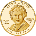First Spouse 2013 Edith Wilson Proof
