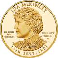 First Spouse 2013 Ida McKinley Proof