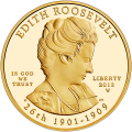 First Spouse 2013 Edith Roosevelt Proof