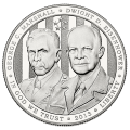 US Commemorative Dollar Proof 2013-P 5-Star Generals