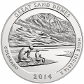 2014 Silver 5oz. Great Sand Dunes ATB
