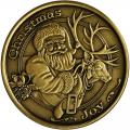 Christmas 2014 Bronze Coin BX-14 Baby's First Christmas