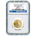 Certified American $10 Gold Eagle 2015 MS70 NGC Early Release