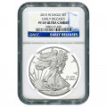 Certified Proof Silver Eagle 2015-W PF69 NGC Early Release