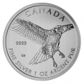Canadian Silver 1 oz Red-Tailed Hawk 2015 (Birds of Prey Series)
