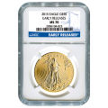 Certified American $50 Gold Eagle 2015 MS70 NGC Early Release