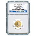 Certified American $5 Gold Eagle 2015 MS70 NGC Early Release