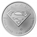 2016 Canada 1 oz Silver $5 SUPERMAN™ Man of Steel