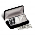 Silver 4 Ounce Bar - 2019 $100 Bill .999 Fine (w/ Box and COA)